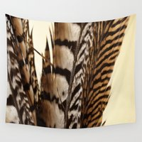 into the wild Wall Tapestries featuring Wild by Charlene McCoy