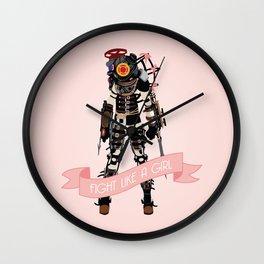 Fight Like a Girl: Big Sister Wall Clock