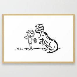 Tronax's Dragon Framed Art Print