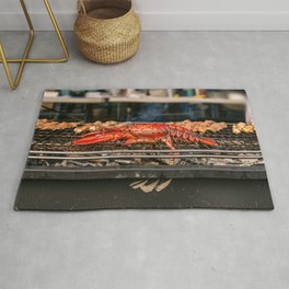 Grilled lobster, New York City (2020-6-MISC-LOB) Rug