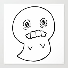 Anxiety Ghost Canvas Print
