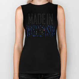 Made In Wisconsin Biker Tank