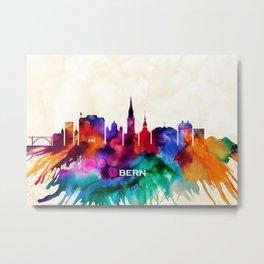 Bern Skyline Metal Print