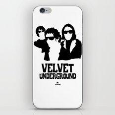 VELVET UNDERGROUND W iPhone & iPod Skin