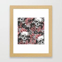 SKULLS 3 HALLOWEEN Framed Art Print
