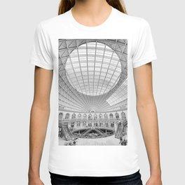 The Corn Exchange Interior In Monochrome T-shirt