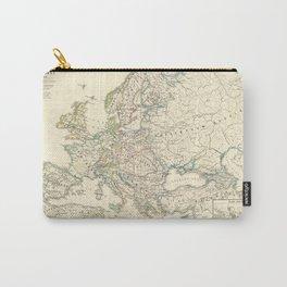 Vintage Map - Spruner-Menke Handatlas (1880) - 11 Napoleonic Europe, 1810 Carry-All Pouch