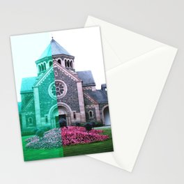 Cracked church... Stationery Cards