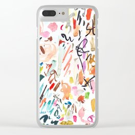 Studio days Clear iPhone Case