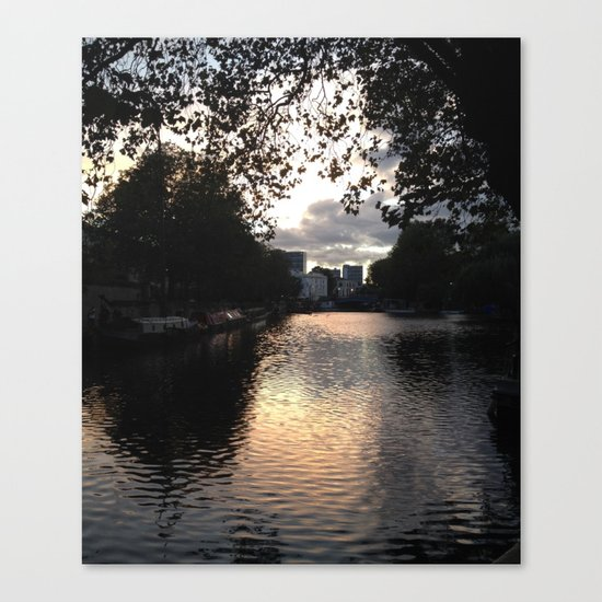 London, Little Venice Canvas Print