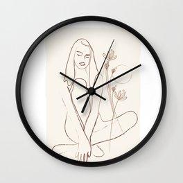 Soft Line Design 01 Wall Clock