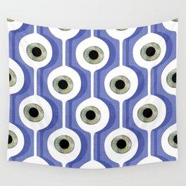 Eye Pod Purple Wall Tapestry