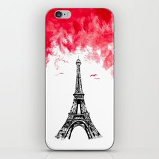 Triple Eiffel iPhone & iPod Skin