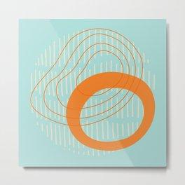 Spring Circles Metal Print