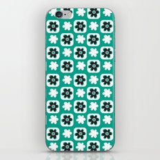 Emerald flower iPhone & iPod Skin