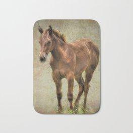 Young Horse Bath Mat