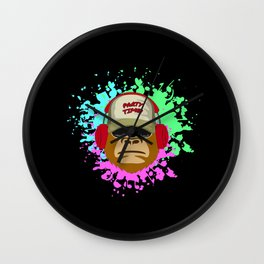 Party Monster Partying Funny Time Humor Cool Gift Wall Clock
