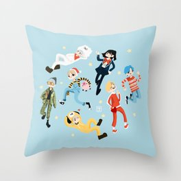 BTS x Yoongi x Suga Throw Pillow
