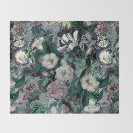 Floral Camouflage VSF016 Throw Blanket