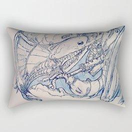Oblivion Above Rectangular Pillow