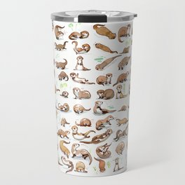 Otters collection Travel Mug