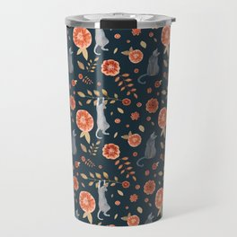It's a cats' world! Travel Mug