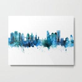 Oakland California Skyline Metal Print