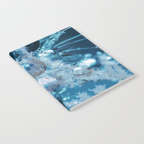 Ice Flower abstract Notebook