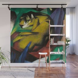 Franz Marc - The Tiger Wall Mural