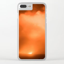 Volcanos National Park 1 Clear iPhone Case