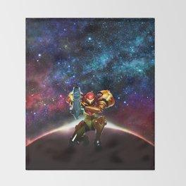 Metroid Samus Returns Throw Blanket