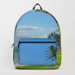 Waipuilani Beach Kihei Maui Hawaii Backpack