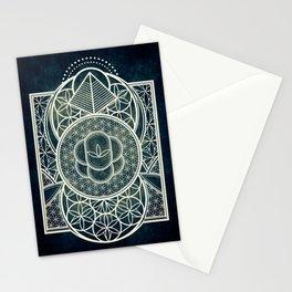 Ultra Sacred Geometry Dark Stationery Cards