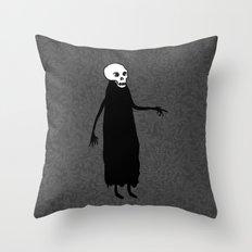 Skeleton Spirit Throw Pillow