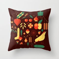 Countrylife #1 — Earth Throw Pillow