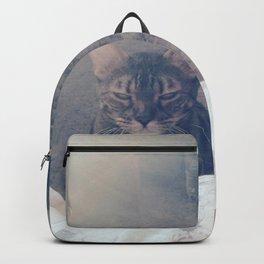 wake up, human Backpack