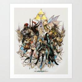The Legend of Zelda XIII Art Print