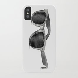 B&W Raybans - Drawing iPhone Case
