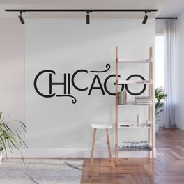 Chicago - Where the Wind Blows - 57 Montgomery Ave Wall Mural