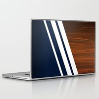 wooden Laptop & iPad Skins featuring Wooden Navy by Nicklas Gustafsson