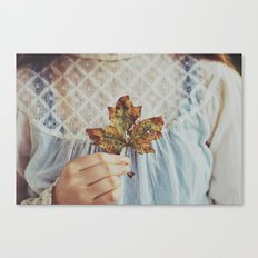 For The Love Of Autumn Canvas Print