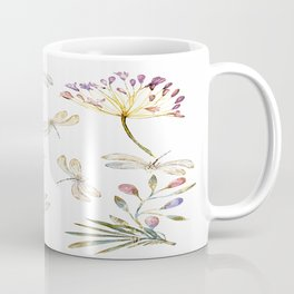 Love Amongst The Dragonflies - Bagaceous Coffee Mug