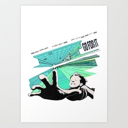 GO FOR IT - Stiff Little Fingers Art Print