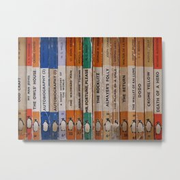 Penguin Book Part 2 Metal Print