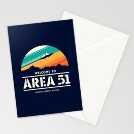 Welome to Area 51 Stationery Cards