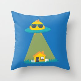 C.H.I.C.K abduction Throw Pillow