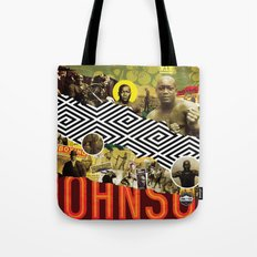 BRING THE PAIN: JACK JOHNSON Tote Bag