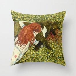 Summertime Sadness Throw Pillow