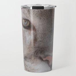 Cougar face Travel Mug