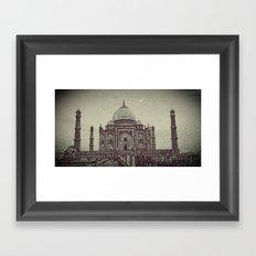Taj chrome Framed Art Print